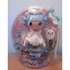 Lalaloopsy Ivory Ice Crystals Holiday Collector Ed
